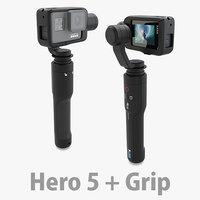 GoPro Hero 5 + Karma Grip