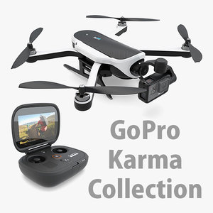 3d model gopro karma hero 5