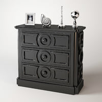 eichholtz chest cambon 3d 3ds