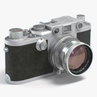 Leica IIIf retro photo camera