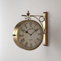 ma eichholtz clock station