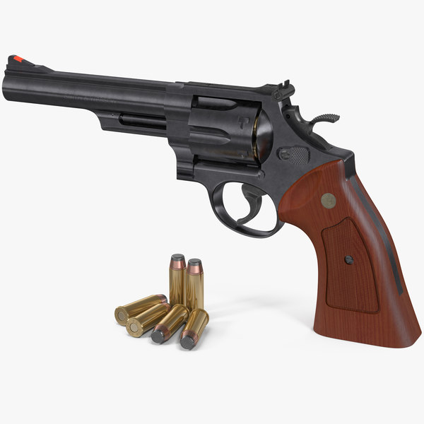 3D smith wesson 29 6