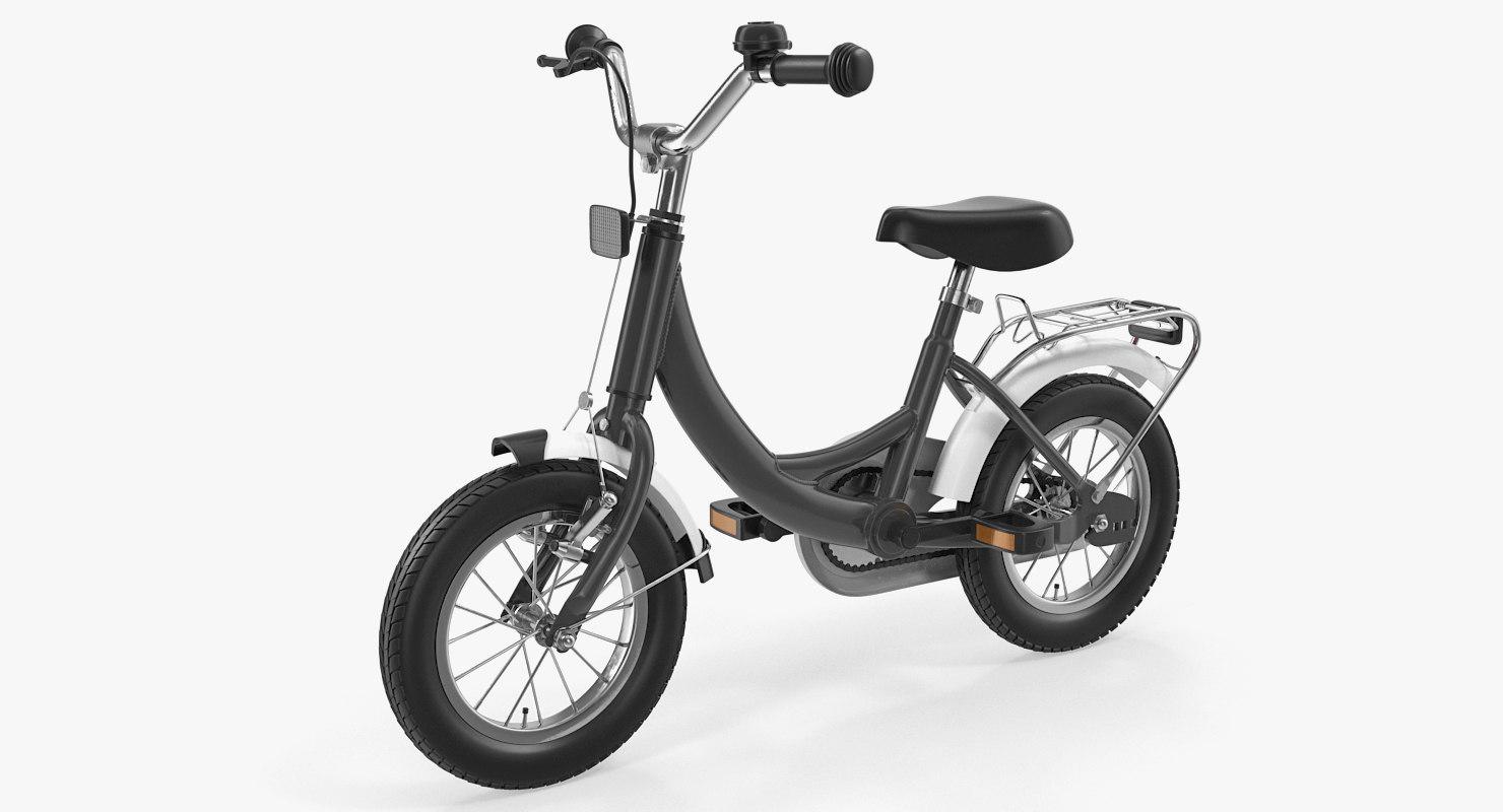 kids bike 3D model