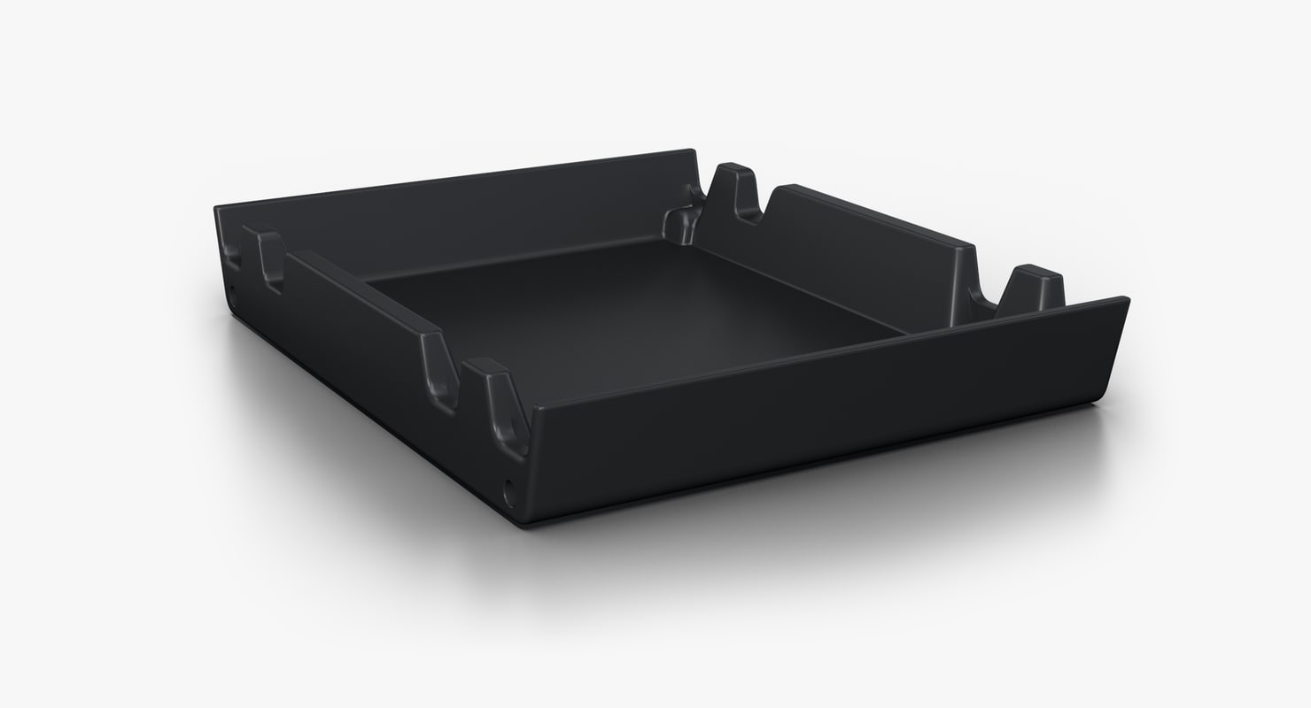 storage 2 5inch drive 3D model