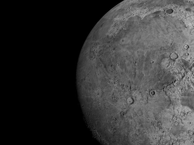 moon 3d c4d