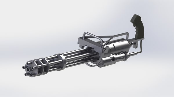 gatling gun model