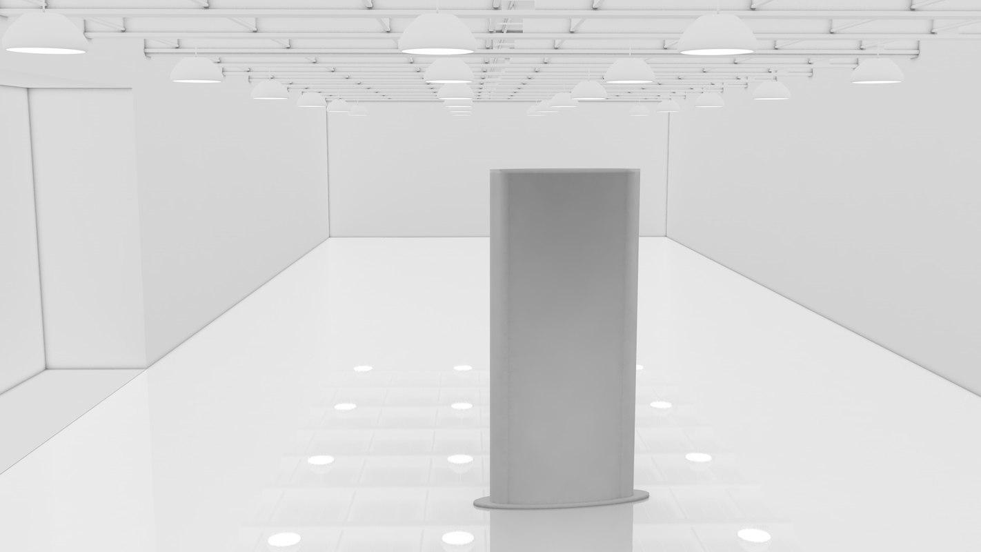 3D light box model