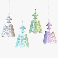 3D provence lamp lights model