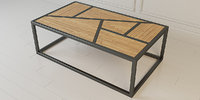 3D cofe table industrial