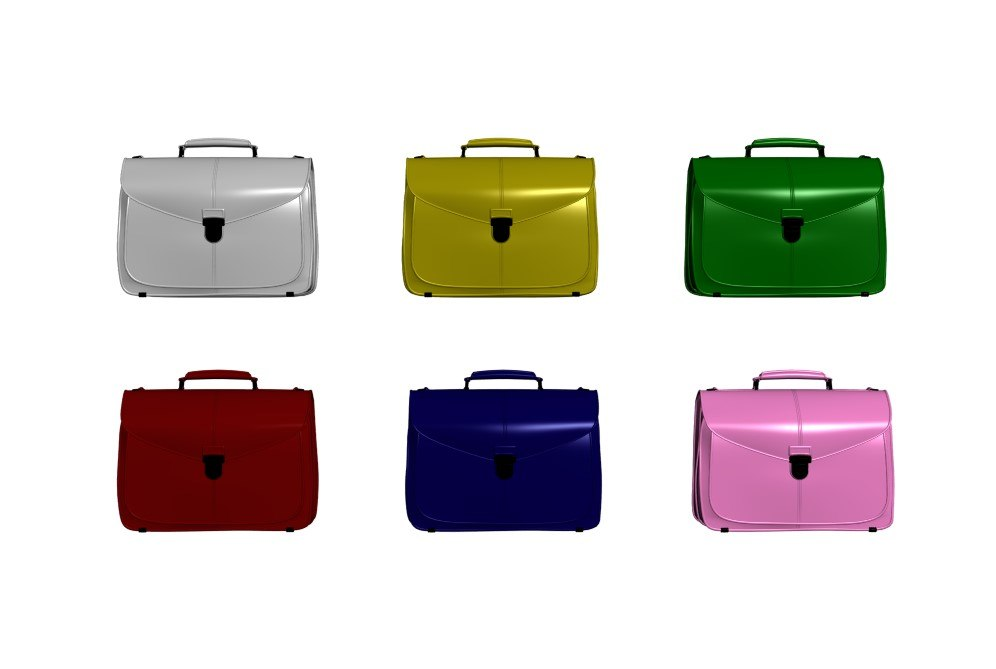 3D handbag bags