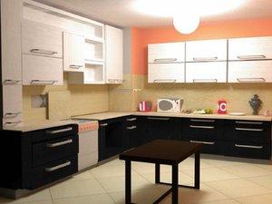 kitchen interier 3D