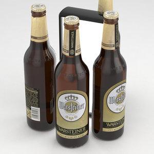 beer 3D model