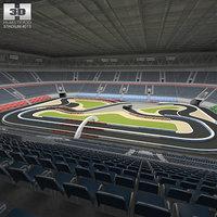 racing arena 3D model