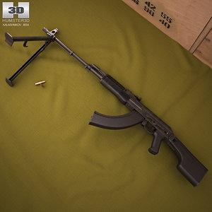rpk rpk-74m 74m 3D model