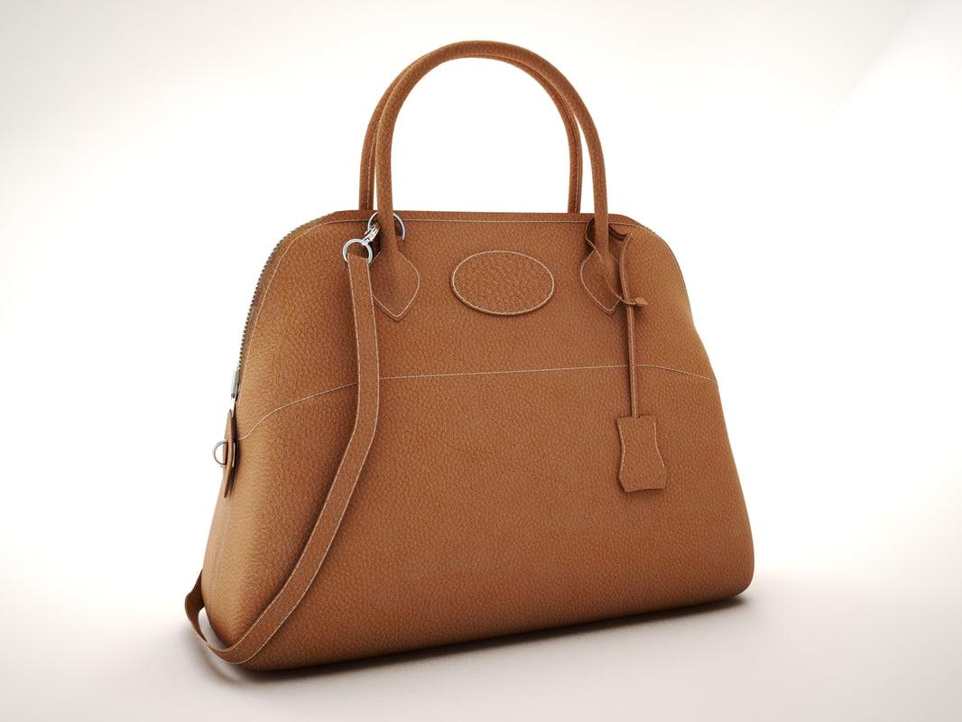 hermes hermes-bolide-31 handbag 3D