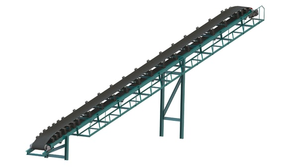 3D conveyor belt