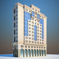 hotel building model