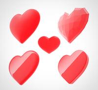 heart 4 3D model