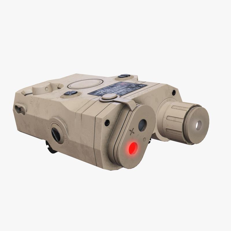 3D peq-15 laser pointer aaa