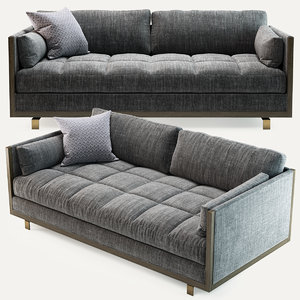 baker framework loveseat 6732l model