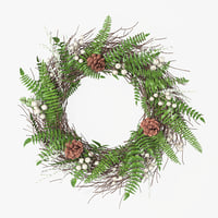 wreath leaves decoration 3D model