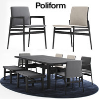 3D poliform news milano model