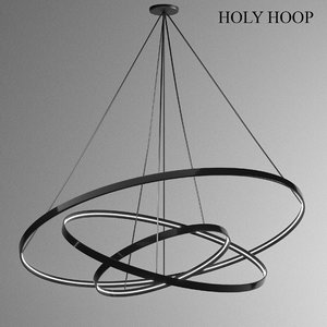 3D pendant light holy hoop