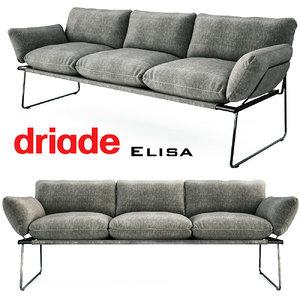 3D model sofa elisa