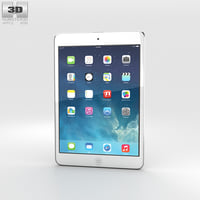 3D model apple 2 ipad