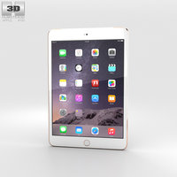 3D apple 3 ipad