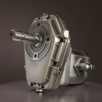 hydraulic pump 3D model