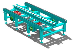 chain conveyor model