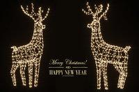 new year deer 3D model