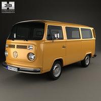 volkswagen transporter t2 3D
