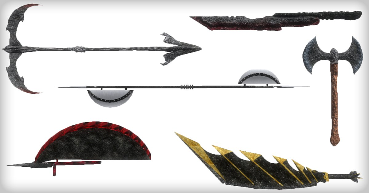 3D weapons 1