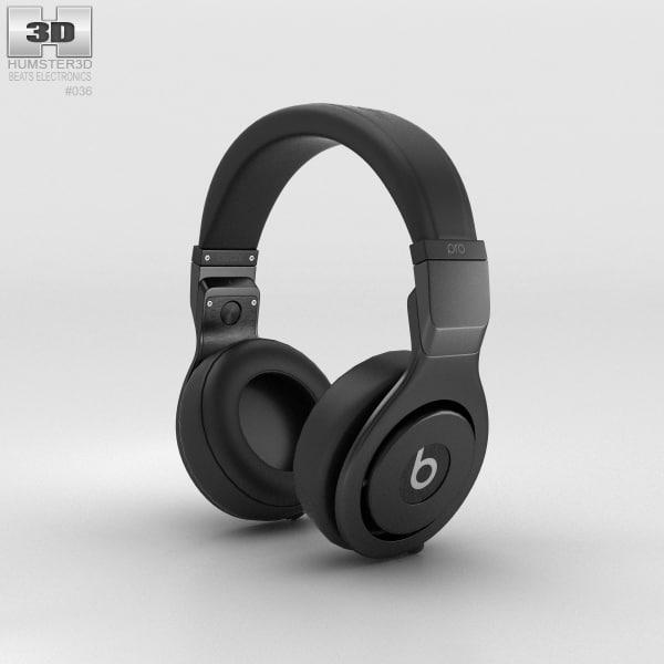 beats pro over-ear 3D