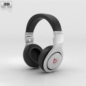 3D beats pro over-ear