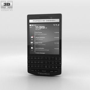 blackberry porsche design 3D