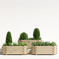 richmond planter 3D