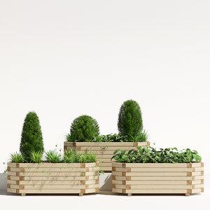 richmond planter 3D