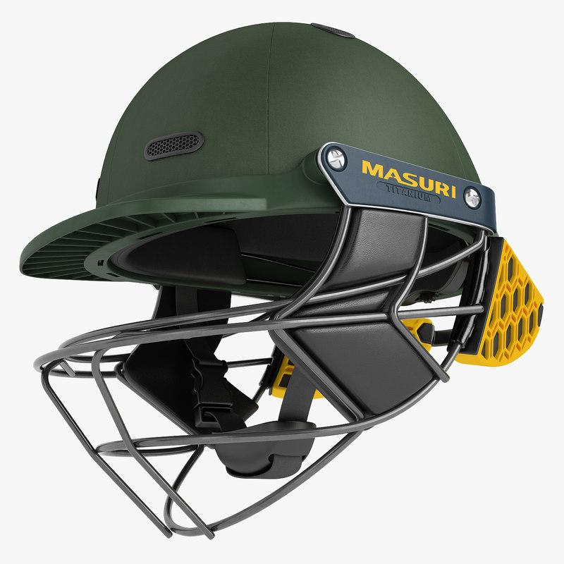 cricket helmet masuri 3D model