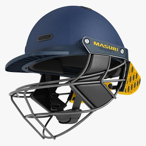 cricket helmet masuri 3D model