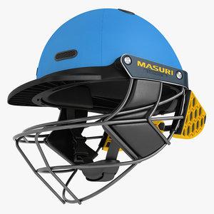 cricket helmet masuri 3D