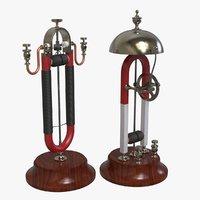 3D early electric motors davis
