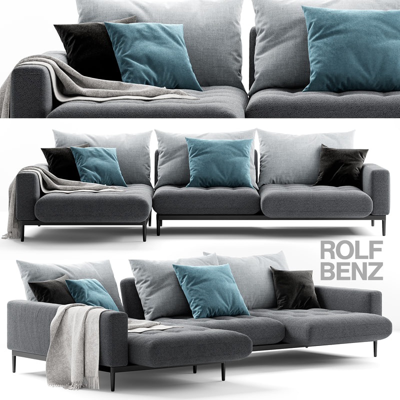 rolf benz tira sofa 3D
