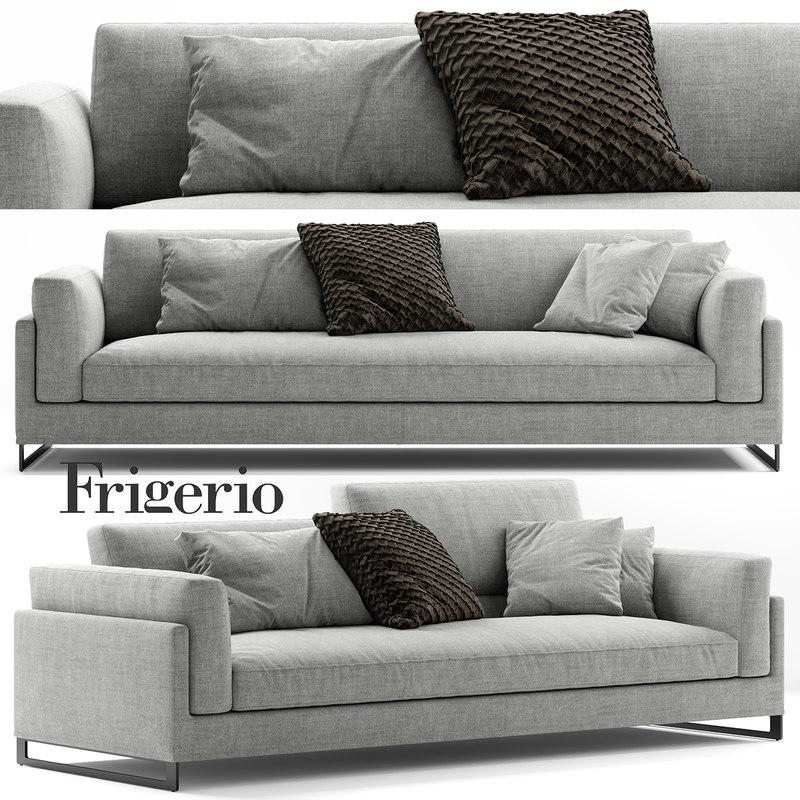 Frigerio Salotti Davis Sofa Model