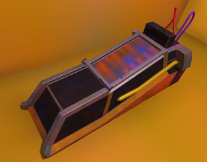 stasis pod 3D model