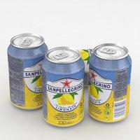 3D beverage model