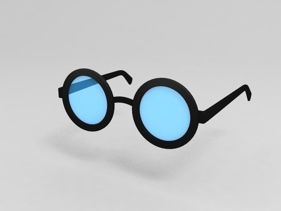 glasses model