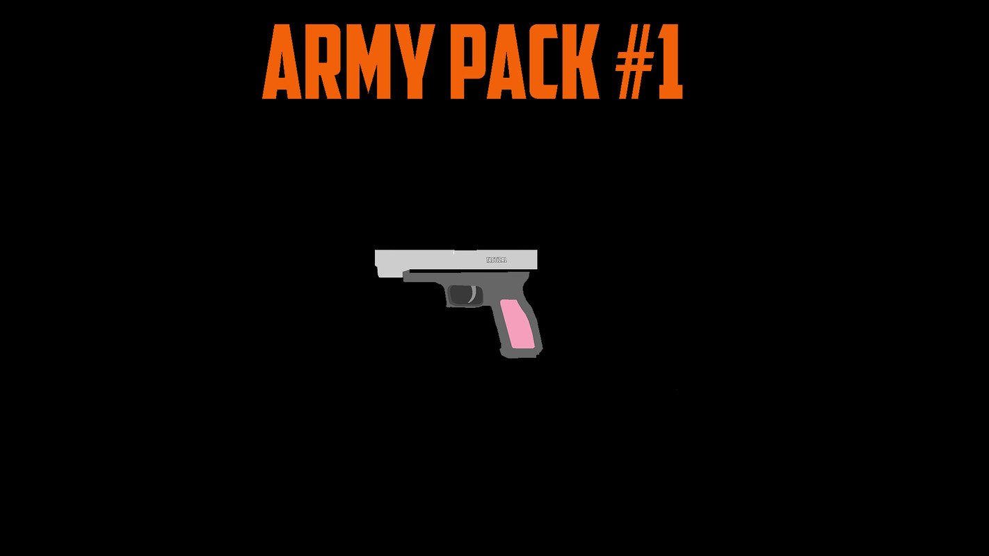army pack 3D